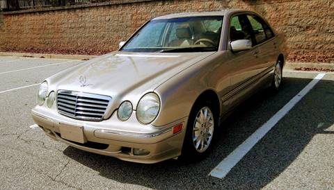 2000 Mercedes-Benz E-Class for sale at JCW AUTO BROKERS in Douglasville GA