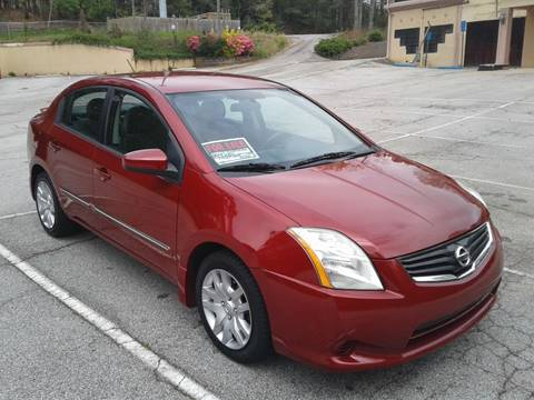 2012 Nissan Sentra for sale at JCW AUTO BROKERS in Douglasville GA
