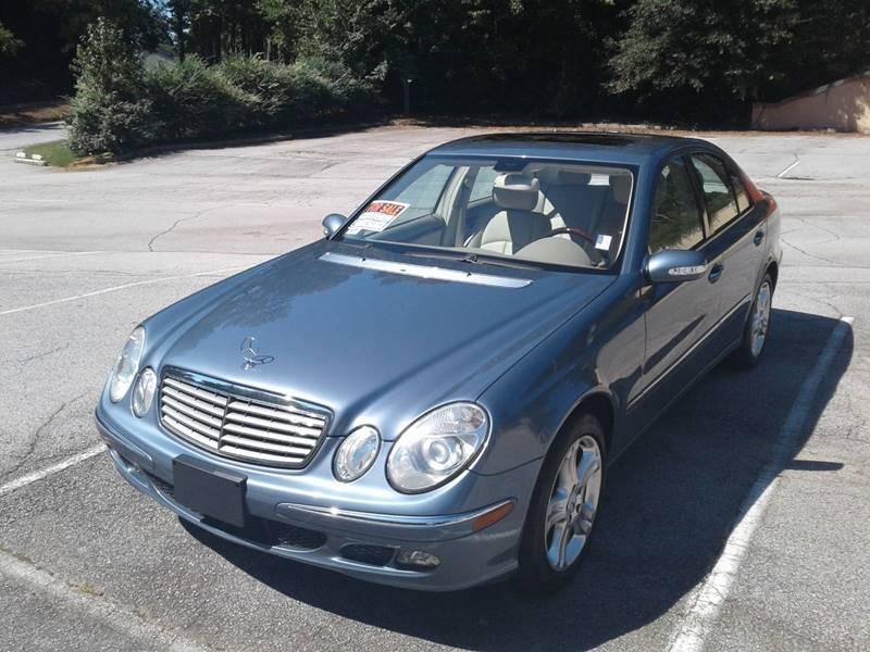 2006 Mercedes-Benz E-Class for sale at JCW AUTO BROKERS in Douglasville GA