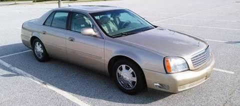 2005 Cadillac DeVille for sale at JCW AUTO BROKERS in Douglasville GA