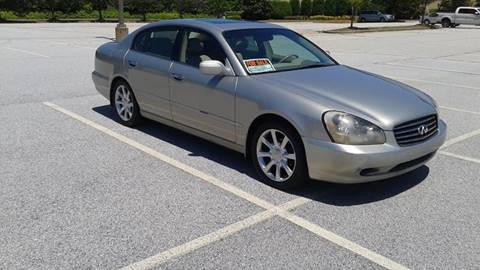 2003 Infiniti Q45 for sale at JCW AUTO BROKERS in Douglasville GA