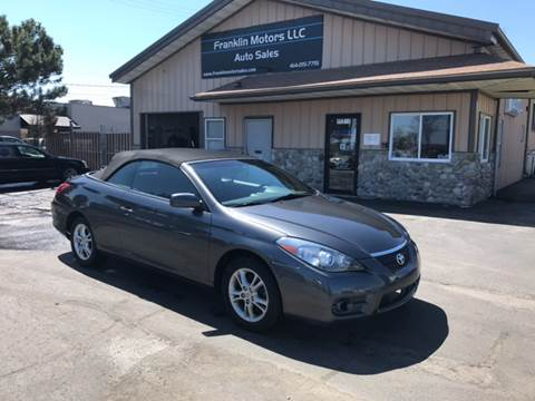 2007 Toyota Camry Solara for sale at Franklin Motors in Franklin WI