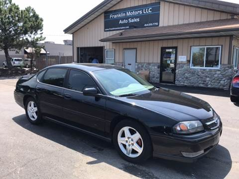 2004 Chevrolet Impala for sale at Franklin Motors in Franklin WI