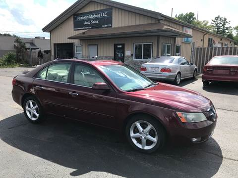 2007 Hyundai Sonata for sale at Franklin Motors in Franklin WI