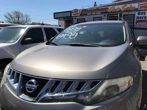 2009 Nissan Murano for sale at Chambers Auto Sales LLC in Trenton NJ