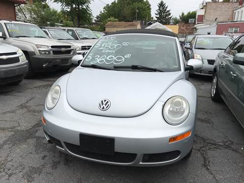 2006 Volkswagen New Beetle for sale at Chambers Auto Sales LLC in Trenton NJ