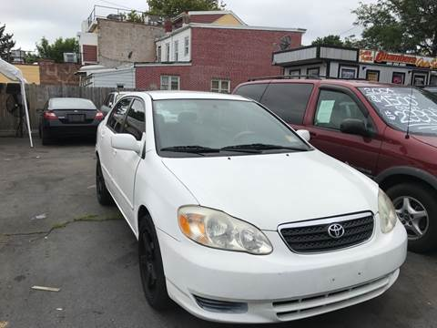 2004 Toyota Corolla for sale at Chambers Auto Sales LLC in Trenton NJ