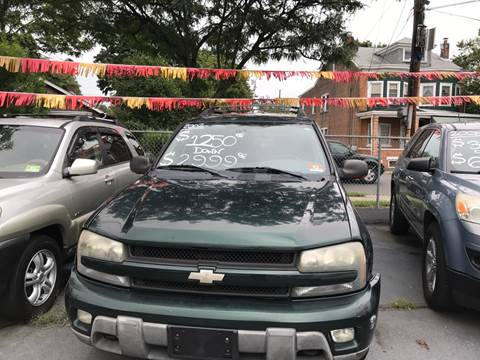 2002 Chevrolet TrailBlazer for sale at Chambers Auto Sales LLC in Trenton NJ