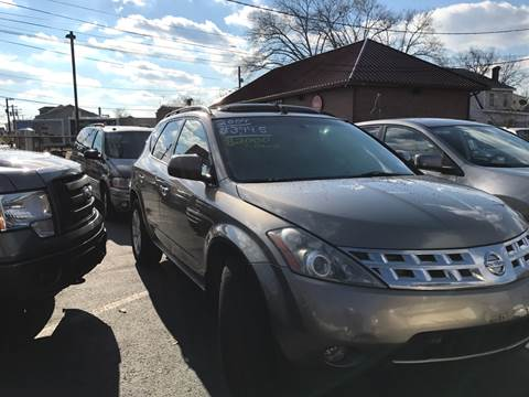 2004 Nissan Murano for sale at Chambers Auto Sales LLC in Trenton NJ