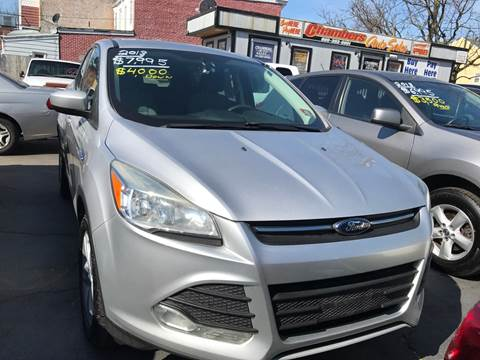 2013 Ford Escape for sale at Chambers Auto Sales LLC in Trenton NJ