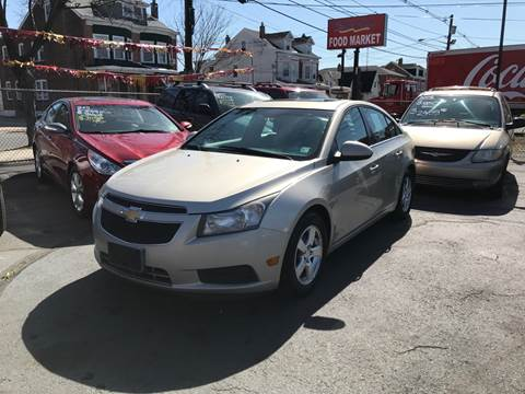 2013 Chevrolet Cruze for sale at Chambers Auto Sales LLC in Trenton NJ