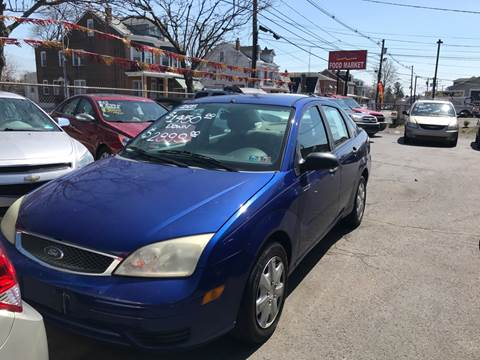 2005 Ford Focus for sale at Chambers Auto Sales LLC in Trenton NJ