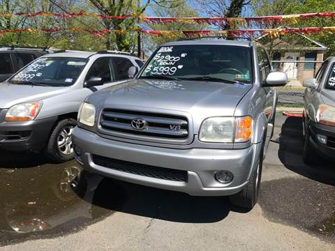 2002 Toyota Sequoia for sale at Chambers Auto Sales LLC in Trenton NJ