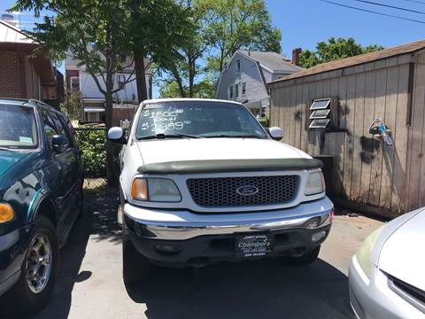 1999 Ford F-150 for sale at Chambers Auto Sales LLC in Trenton NJ