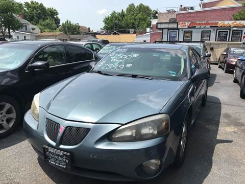 2006 Pontiac Grand Prix for sale at Chambers Auto Sales LLC in Trenton NJ