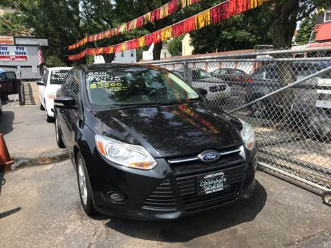2014 Ford Focus for sale at Chambers Auto Sales LLC in Trenton NJ