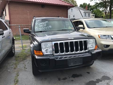 2007 Jeep Commander for sale at Chambers Auto Sales LLC in Trenton NJ