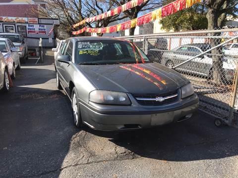 2005 Chevrolet Impala for sale at Chambers Auto Sales LLC in Trenton NJ
