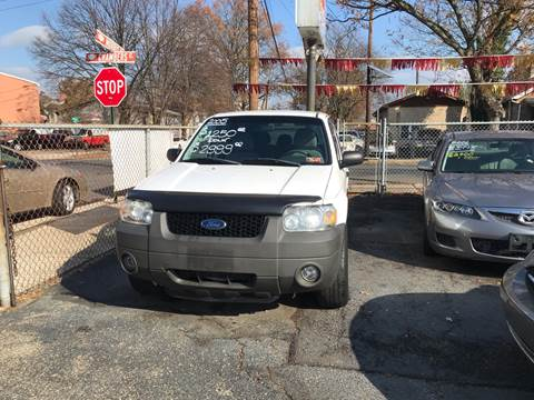 2005 Ford Escape for sale at Chambers Auto Sales LLC in Trenton NJ