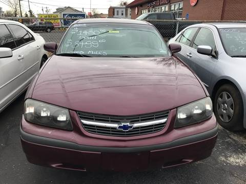 2003 Chevrolet Impala for sale at Chambers Auto Sales LLC in Trenton NJ