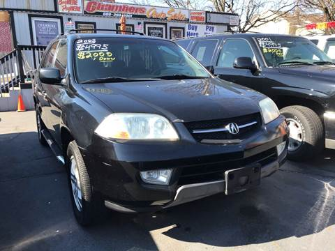 2003 Acura MDX for sale at Chambers Auto Sales LLC in Trenton NJ