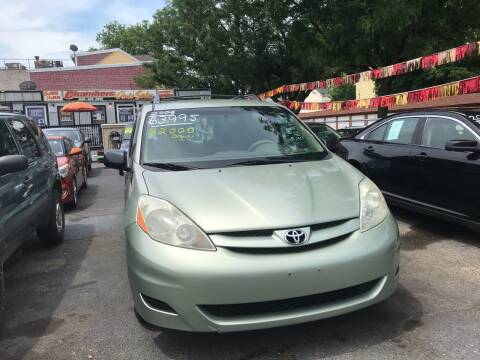 2006 Toyota Sienna for sale at Chambers Auto Sales LLC in Trenton NJ