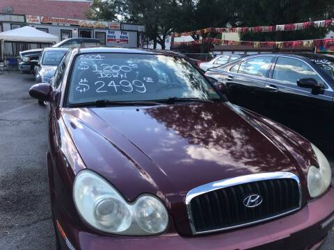 2004 Hyundai Sonata for sale at Chambers Auto Sales LLC in Trenton NJ