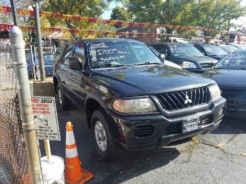 2002 Mitsubishi Montero Sport for sale at Chambers Auto Sales LLC in Trenton NJ