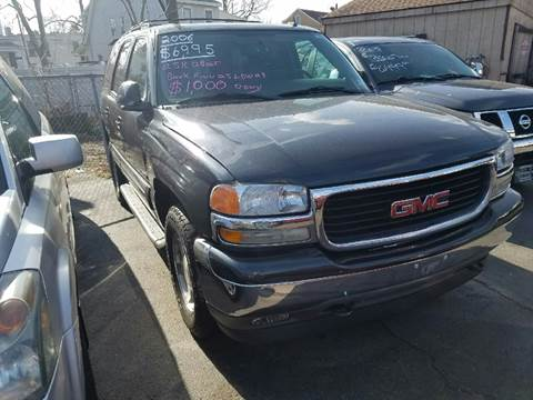 2006 GMC Yukon for sale at Chambers Auto Sales LLC in Trenton NJ