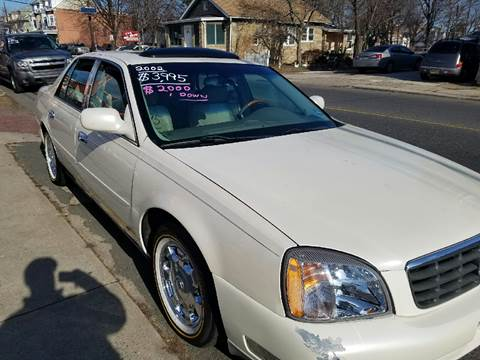 2002 Cadillac DeVille for sale at Chambers Auto Sales LLC in Trenton NJ