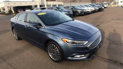 2018 Ford Fusion Titanium for sale at Crest Lincoln of Woodbridge in Woodbridge CT