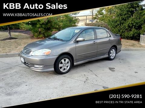2003 Toyota Corolla for sale in North Bergen, NJ