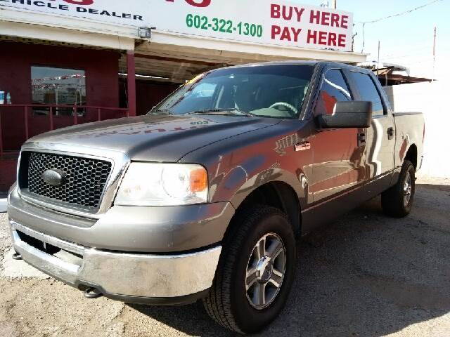 2007 Ford F-150 for sale at Fast Trac Auto Sales in Phoenix AZ