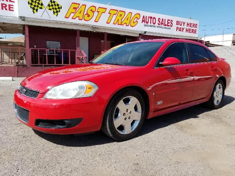 2009 Chevrolet Impala Ss >> 2009 Chevrolet Impala Ss 4dr Sedan In Phoenix Az Fast Trac