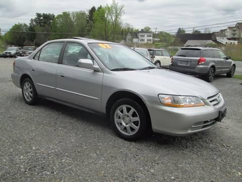 2002 Honda Accord for sale at Saratoga Motors in Gansevoort NY