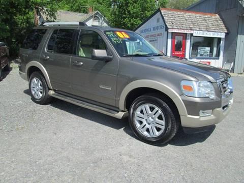 2006 Ford Explorer for sale at Saratoga Motors in Gansevoort NY