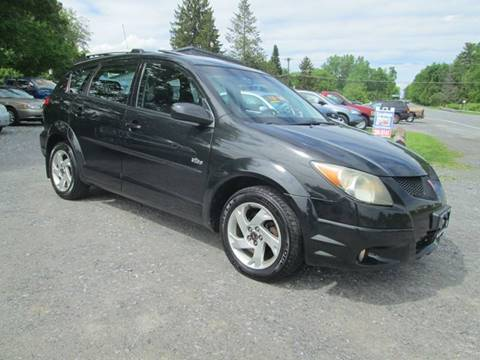 2003 Pontiac Vibe for sale at Saratoga Motors in Gansevoort NY