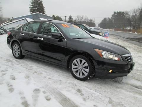 2011 Honda Accord for sale at Saratoga Motors in Gansevoort NY