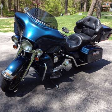 2003 Harley-Davidson Ultra Classic (FLHTCUI), 100TH for sale at Saratoga Motors in Gansevoort NY