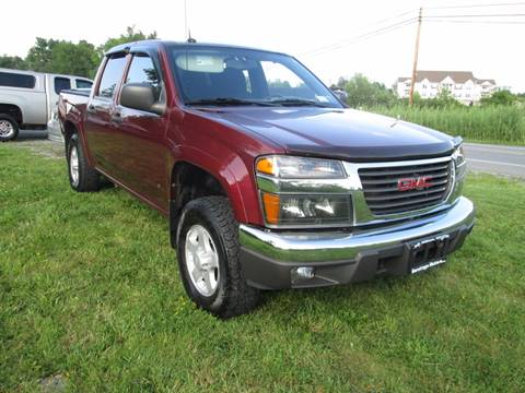 2008 GMC Canyon for sale at Saratoga Motors in Gansevoort NY