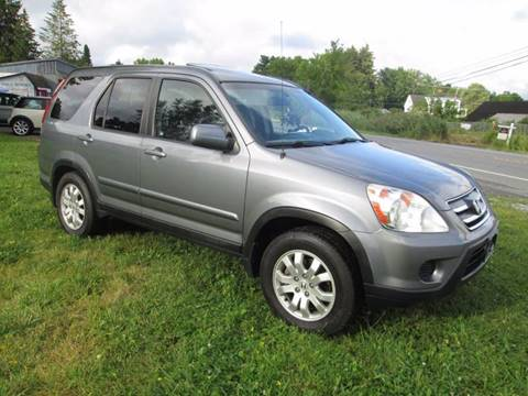 2006 Honda CR-V for sale at Saratoga Motors in Gansevoort NY