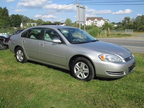2007 Chevrolet Impala for sale at Saratoga Motors in Gansevoort NY