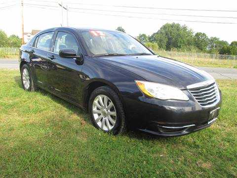2012 Chrysler 200 for sale at Saratoga Motors in Gansevoort NY