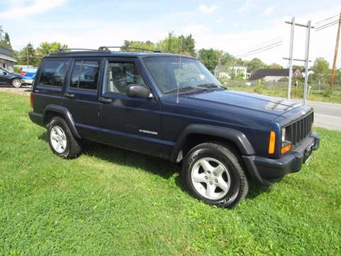 2000 Jeep Cherokee for sale at Saratoga Motors in Gansevoort NY
