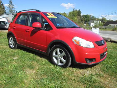 2009 Suzuki SX4 Crossover for sale at Saratoga Motors in Gansevoort NY