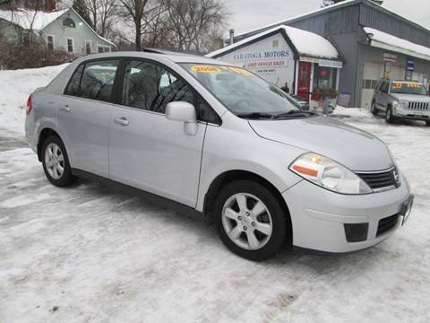 2008 Nissan Versa for sale at Saratoga Motors in Gansevoort NY