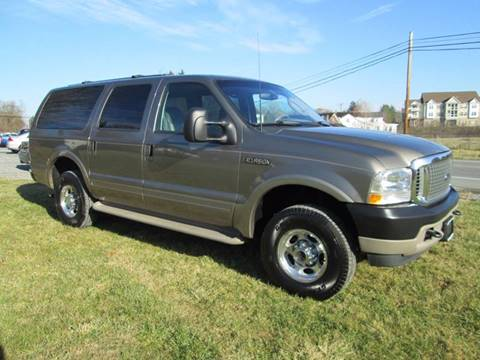 2003 Ford Excursion for sale at Saratoga Motors in Gansevoort NY
