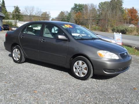2005 Toyota Corolla for sale at Saratoga Motors in Gansevoort NY