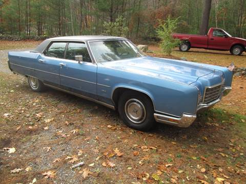 1972 Lincoln Continental for sale at Saratoga Motors in Gansevoort NY