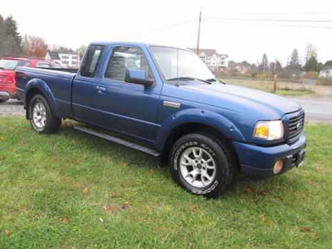 2008 Ford Ranger for sale at Saratoga Motors in Gansevoort NY